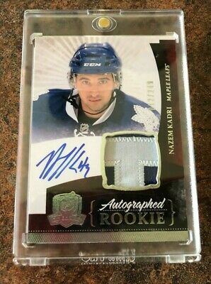 2010-2011 UD The Cup Nazem Kadri Auto Patch Rookie/RC