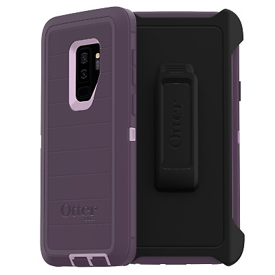OtterBox Defender Pro Series Rugged Protection Purple Nebula Case for Galaxy S9+