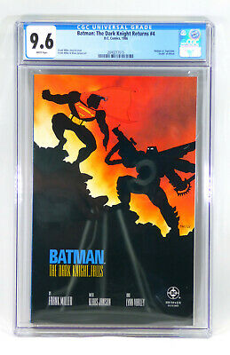 Batman The Dark Knight #4 Death of Alfred CGC 9.6 White Pages 1st Print