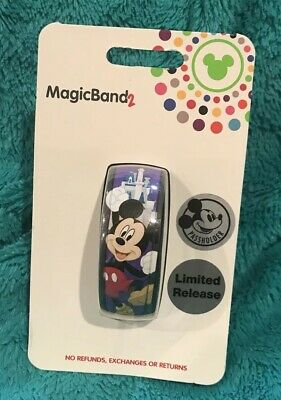 Disney Annual Passholder 2019 Limited Release Mickey MagicBand Magic Band New