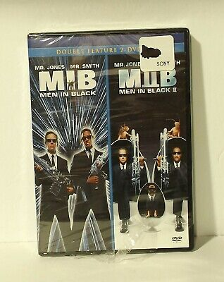 Men in Black/Men in Black II (DVD, 2010, Canadian) NEW AUTHENTIC REGION 1