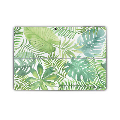 Palm Banana Leaf Tropical Vinyl Skin Sticker Wrap Cover to fit Surface Pro