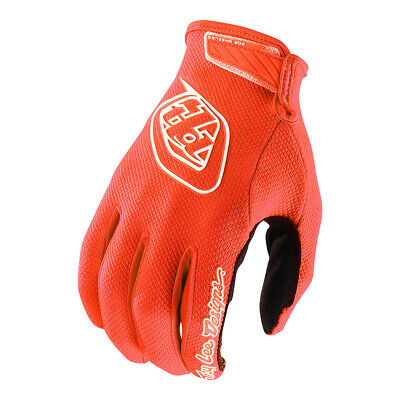Troy Lee Designs Air Solid Youth MX Offroad Guantes Naranja