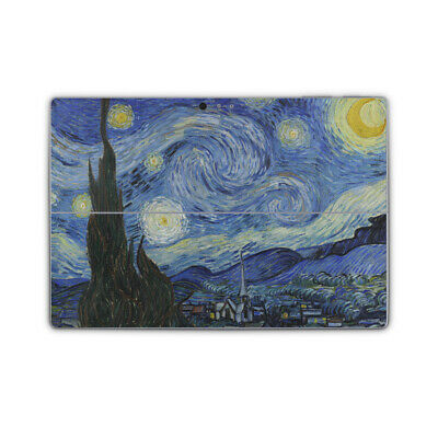 Van Gogh Starry Night Removable Vinyl Skin Sticker Wrap Cover to fit Surface Pro