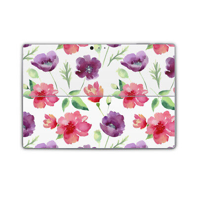 Country Rose Flower Removable Vinyl Skin Sticker Wrap Cover to fit Surface Pro