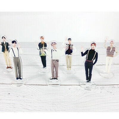 Kpop BTS 5th Muster Mini Acrylic Standee Figure Doll Cute Standing Action