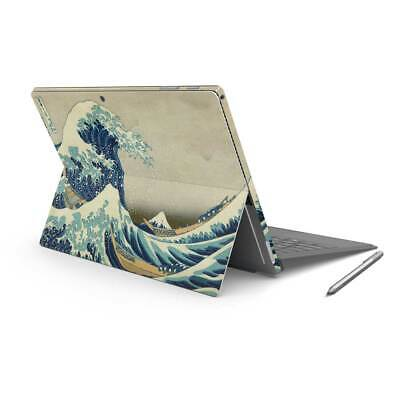 Great Wave Kanagawa Printed Vinyl Skin Sticker Wrap Cover to fit Surface Pro