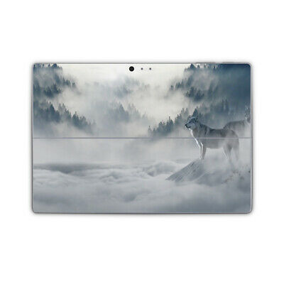 Arctic Wolf Removable Vinyl Skin Sticker Wrap Cover to fit Surface Pro Models