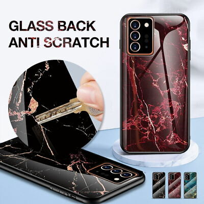 Samsung Galaxy Note 10 Plus 5G S10 Plus 5 Case Glass Heavy Duty Shockproof Cover