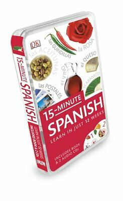 NEW - 15-Minute Spanish: Learn in Just 12 Weeks (15-Minute Language Packs)