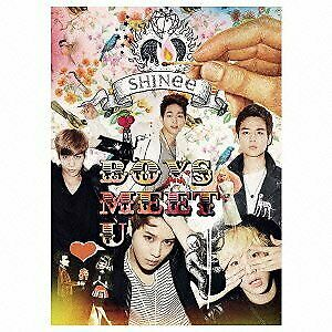USED ​​CD SHINee Boys Meet U Limited Edition CD + DVD + with a photo booklet