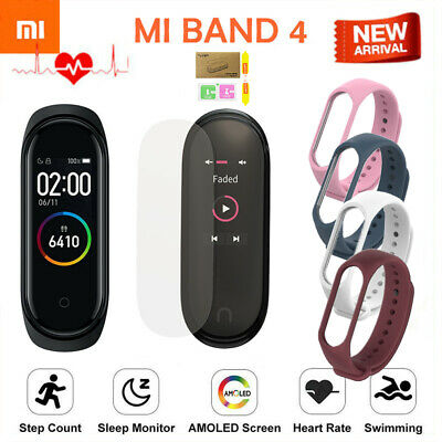 Xiaomi Mi Band 4 Heart Rate Smart Watch Wristband Fitness OLED Global Version EA