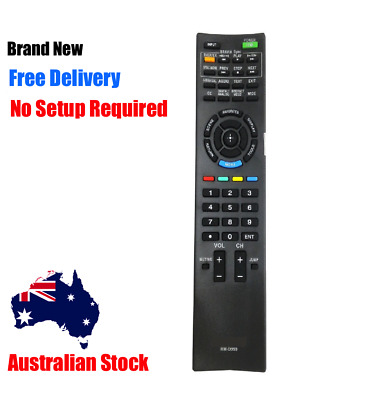NEW Remote Control For SONY TV RM-GD030 RM-GD031 RM-GD032 KD KDL series LCD AU