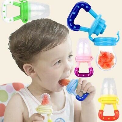 Fresh Food Fruit Milk Baby Dummy Feeding Feeder Nibbles Safe Pacifier Teeth Gift