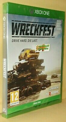 Wreckfest Banger Racing XBOX ONE XB1 NEW SEALED Free UK p&p !!! IN STOCK NOW !!!