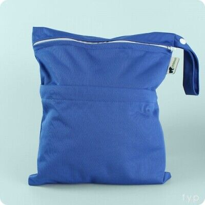 LittleLamb Double Wet Nappy Bag - Wet Bag for cloth nappies or swimwear