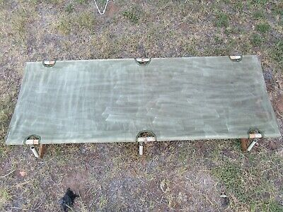 Australian Army Fold Up Camp Bed.