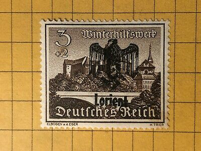 Germany FRANCE (Lorient) WWII-GERMAN OCC.  3+2 Rpf.  MH OG  Priv. Issue /s7
