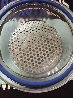 Pyrex Wheaton Desiccant Desiccator Perforated Stainless Steel Plate 140mm