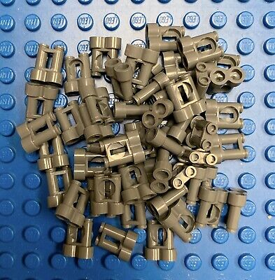 Lego Lot Of 50 Brown Minifigure Brooms Sweepers City Town Accessories New