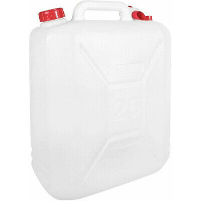 10L LITRE PLASTIC JERRY CAN WATER CONTAINER CARRIER BOTTLE WITH POURING TAP