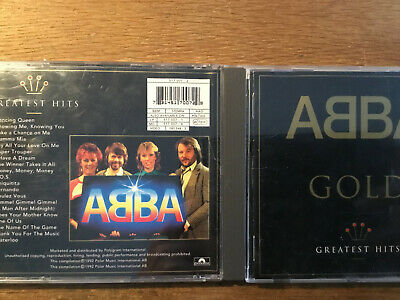 ABBA - GOLD [CD Album] BEST OF Dancing Queen Mamma Mia Super Trouper Waterloo