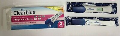 Positive Pregnancy Test Clear Blue 2 Pack - 1 Digital & 1 Traditional
