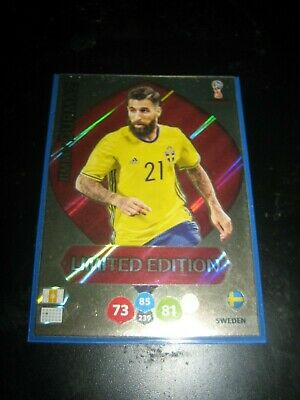 Panini Adrenalyn WORLD CUP 2018 JIMMY DURMAZ Limited edition