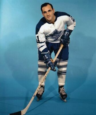 Bobby Baun Toronto Maple Leafs 8x10 Photo