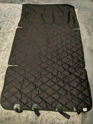 """Black 4Knines Cargo Liner for Dogs and Pets 76"""" x 41"""""""