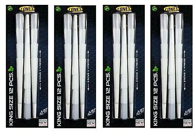 48 x Pre Rolled Thin King Size Cones Ready Made Smoking Rizla Paper