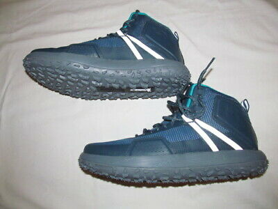 finest selection eab01 cb275 Under Armour Fat Tire MID 1296611 861 man blue green boots sz 10.5 BRAND NEW