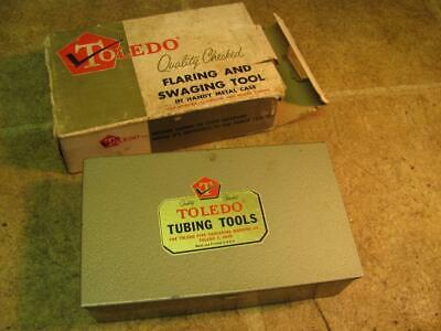 Toledo 757F Flaring And Swaging Tool Set Tube Copper Brass Aluminum
