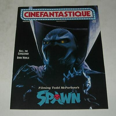 Hi GRADE 1997 CINEFANTASTIQUE MAGAZINE SPAWN KULL the CONQUEROR DARK WORLD