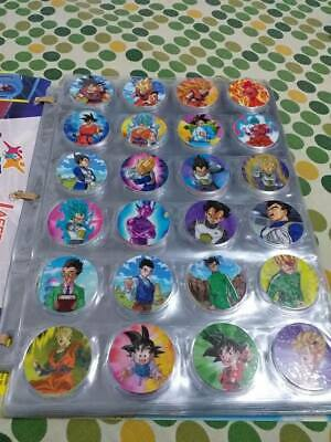 coleccion completa taps/tazos dragon ball super 2018 navarrete