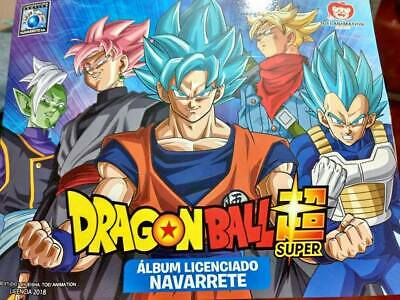 album dragon ball super 2018 editorial navarrete
