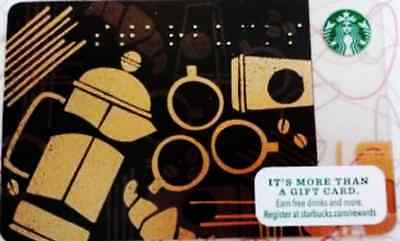 Starbucks 2013 Fall Braille COLLECTIBLE GIFT CARD New Never Swiped