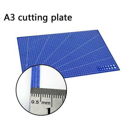 A3 Grid Lines Cutting Mat Non-slip Fabric Cutting Plate New Paper Board B2K6