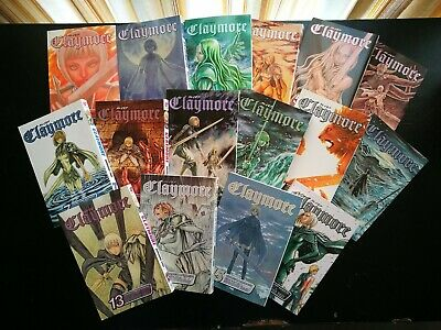 CLAYMORE MANGA COLLECTION Vol. 1-16, NEW CONDITION, PICKUP OR DELIVERY AVAILABLE