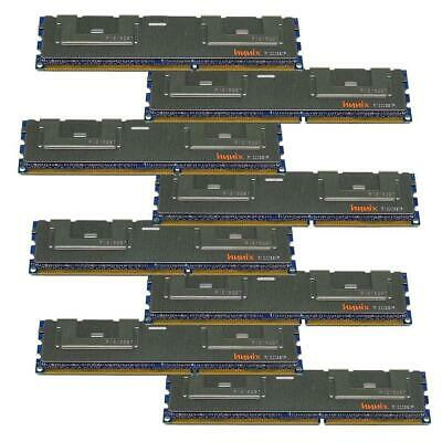 128GB HP Hynix 8x 16 GB PC3-8500R 4Rx4 ECC Server RAM REG ECC DDR3 HMT42GR7BMR4C