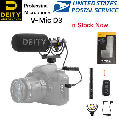 Deity V-Mic D3 Superior Off-axis sound performance cardioid pattern Microphone