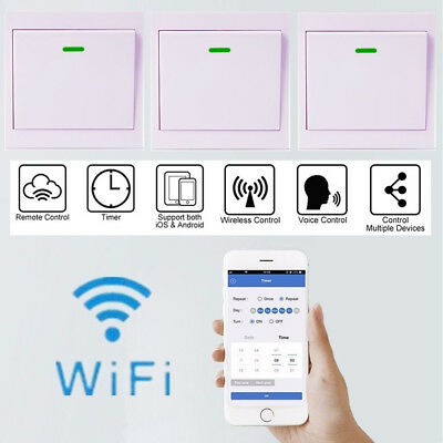 SONOFF Home Smart Switch Remote Control Switch Wireless Wall Power Switch Nice