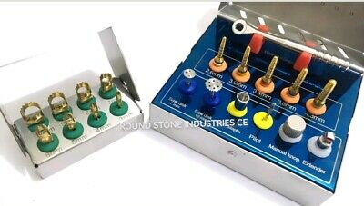 Dental implant Bone Expander Compression Surgical Kit with Terphine Drill Sets