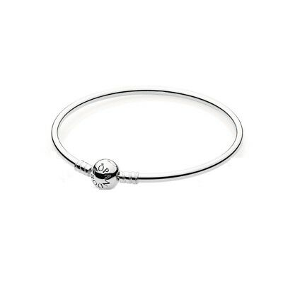 Genuine Pandora Stirling Silver Moments Bangle 590713 WITH BRANDED BOX