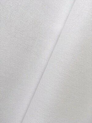 White 32 Count Zweigart Murano even weave fabric - various size options