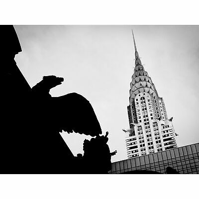 Pinera Chrysler Building Manhattan New York Huge Wall Art Poster Print