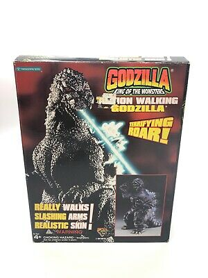 Vintage 1994 GODZILLA King Of The Monsters Large Walking Action Figure w/box