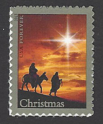 Scott# 4813  46c Holy Family Christmas -Traditional - s/a  mnhog