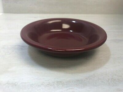 "Fiesta HLC Homer Laughlin Cinnabar Red 6.25 oz Fruit Bowl, 5-3/8"", Used (Good)"