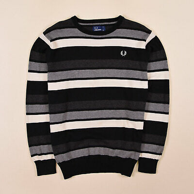 30b4bf2d20 Fred Perry Junge Kinder Pullover Sweater Strick Gr.170 Mehrfarbig, 71724